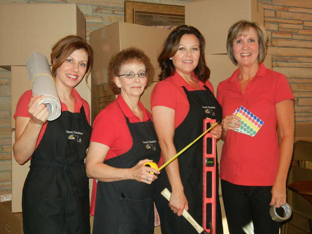 Adie, Heather, Michele, Mary Jane are ready to help with your Smooth Transition.